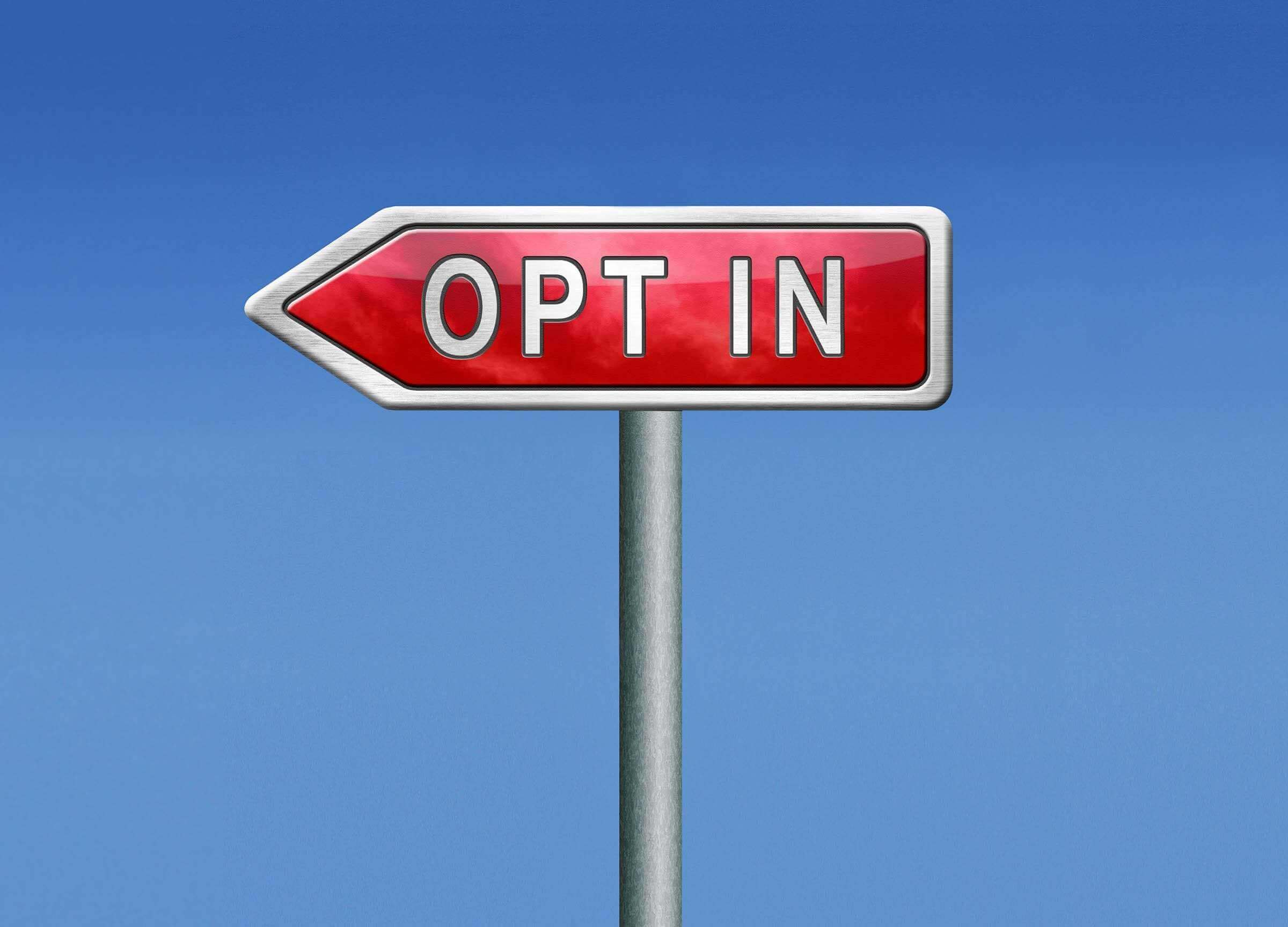 opt in or opting out yes or no