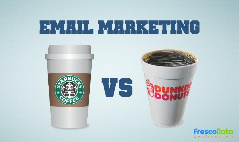 FresocData email marketing starbucks