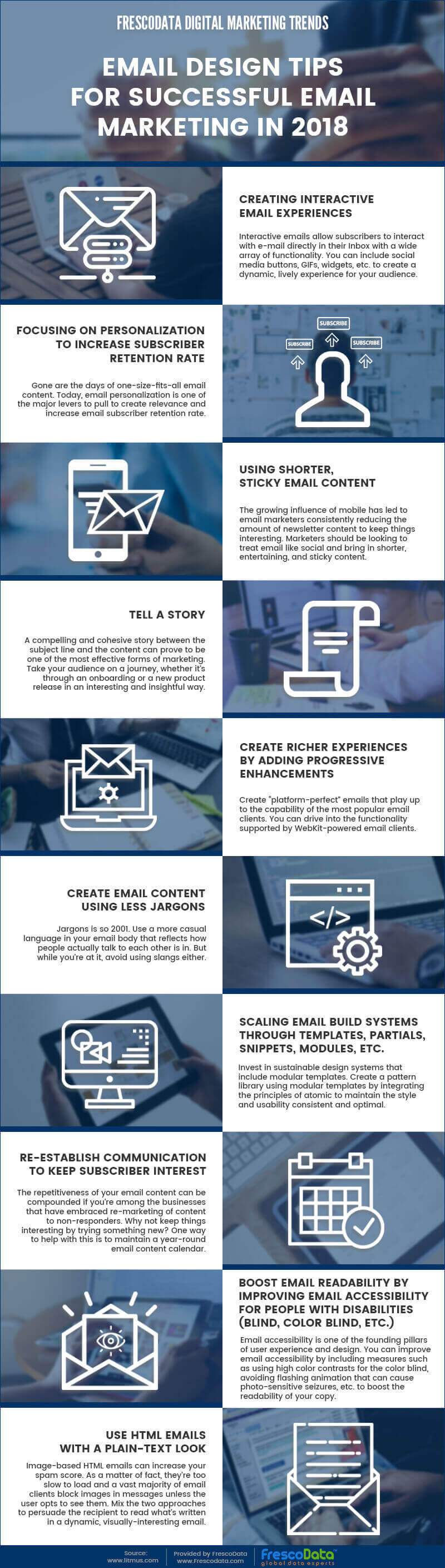 Email design tips for successful email marketing in 2018