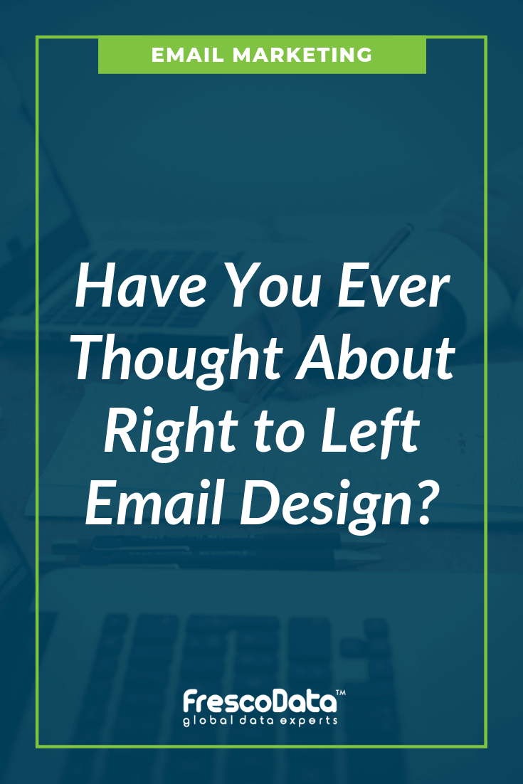 Left To Right Email Design