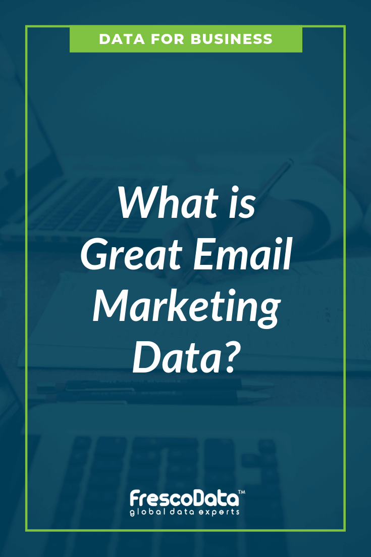 Great Email Marketing Data