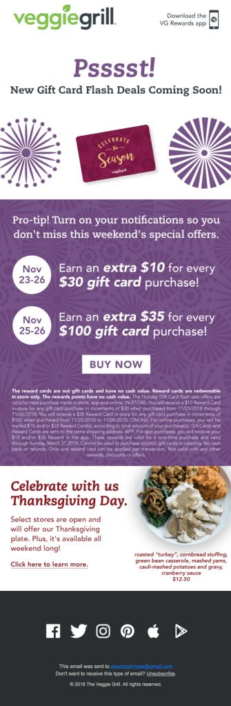 holiday email marketing 2