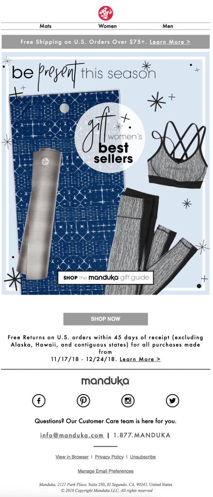 holiday email marketing 1
